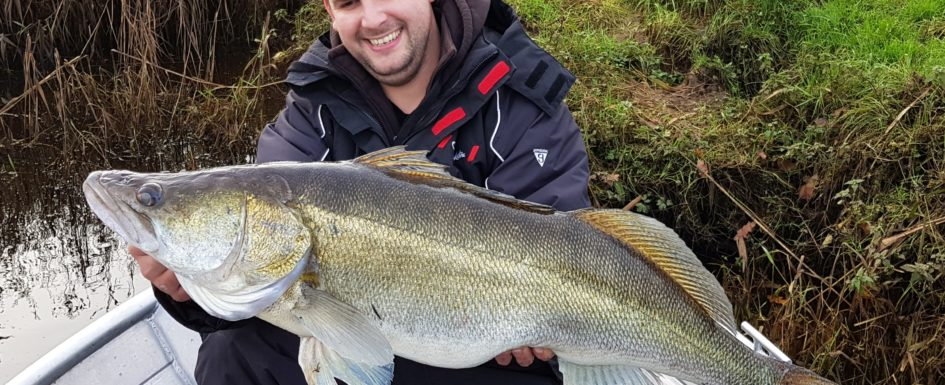 Catch Report: 100cm Zander